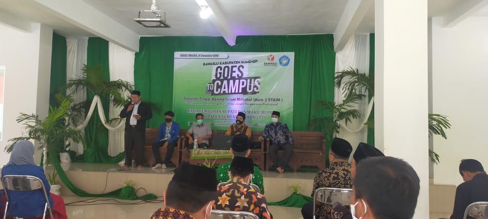 Bawaslu Kabupaten Sumenep Goes To Campus