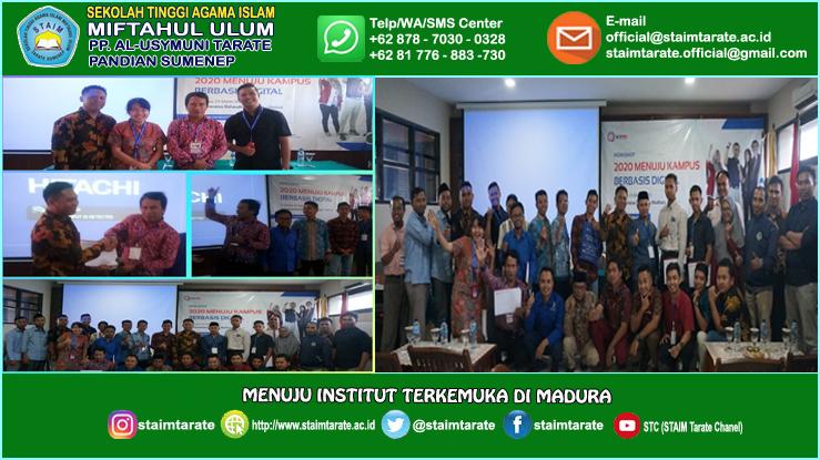 Workshop di UNIBA Madura  (03/03/2020) - 2020 Menuju Kampus Berbasis Digital