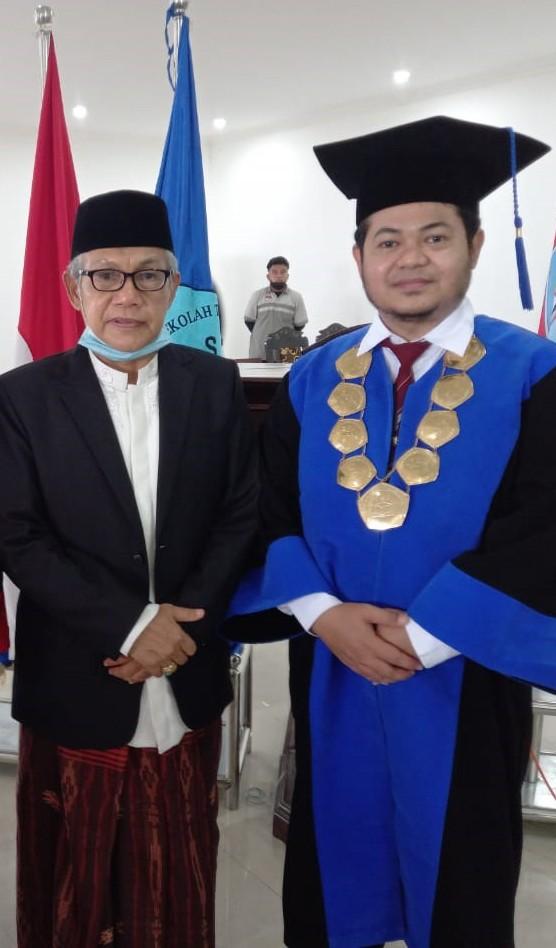 Sambutan Ketua   STAIM Tarate Pandian Sumenep - Wisuda Ke IV 2021