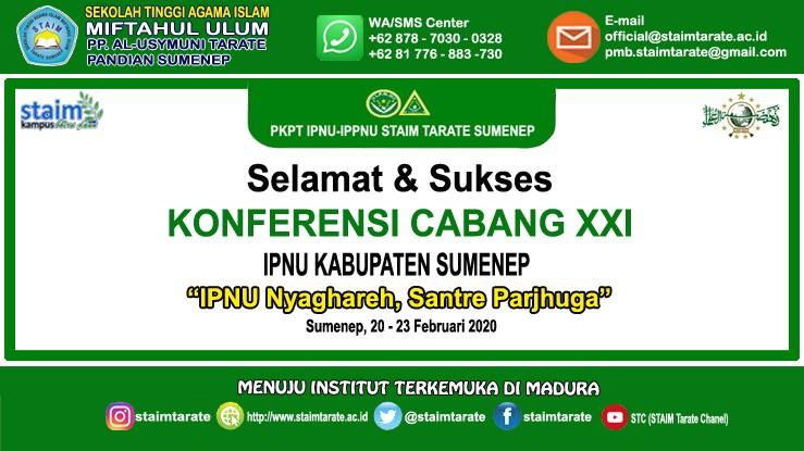 Konferensi Cabang XXI IPNU Kabupaten Sumenep