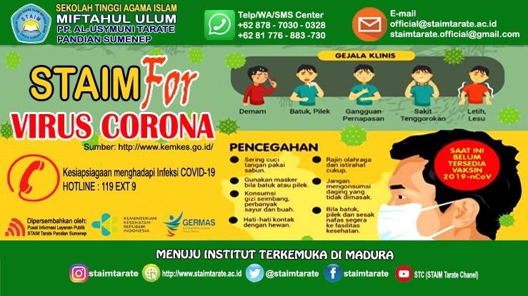 STAIM Tarate Sumenep For Virus Corona