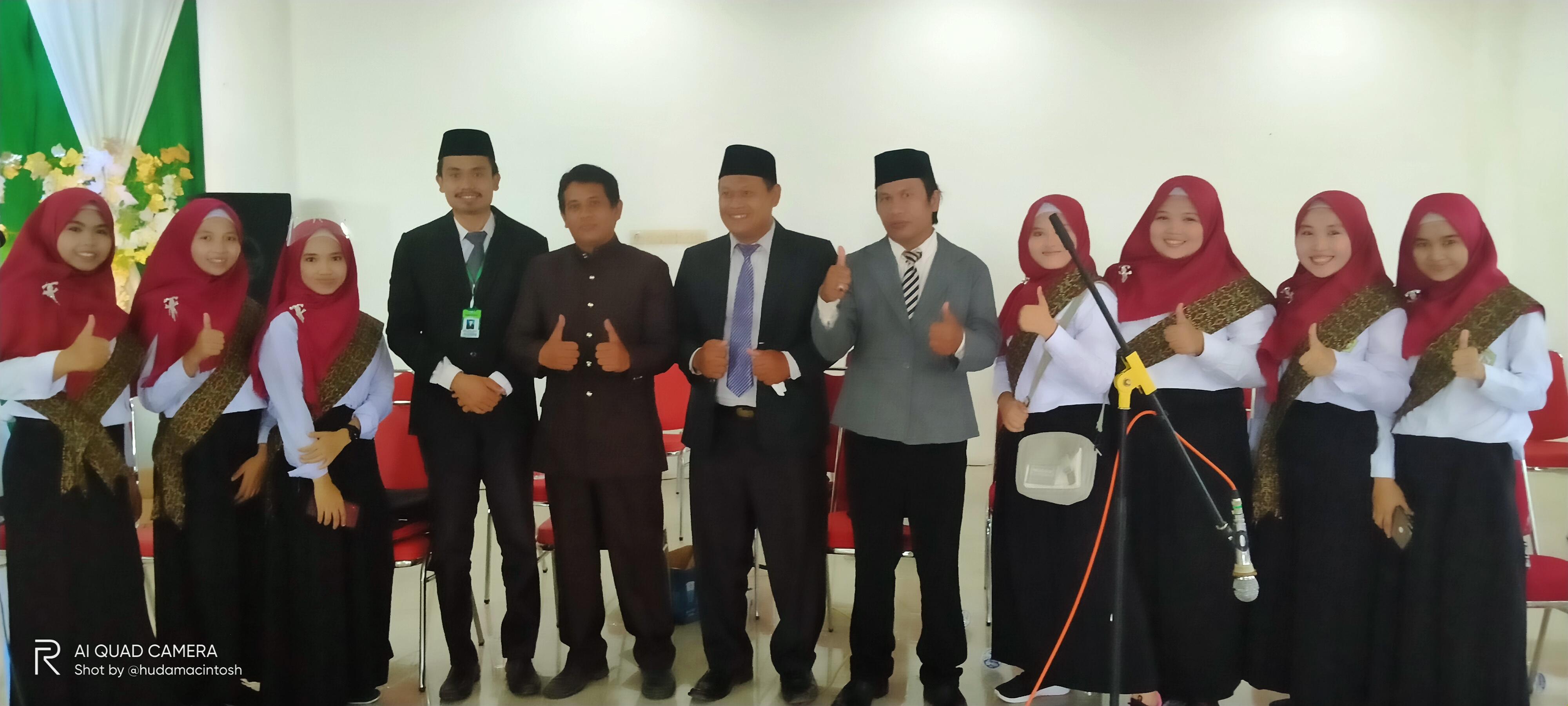 Bersama Mentor PSM Cebbing STAIM Tarate Sumenep